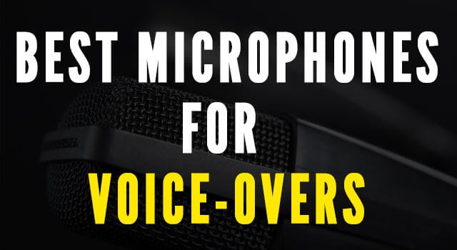 Voiceover mics