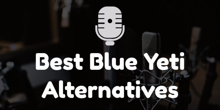 Blue yeti alternatives
