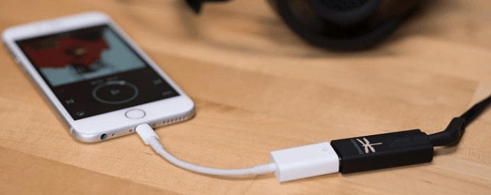 Audioquest connecting to smartphone through cable