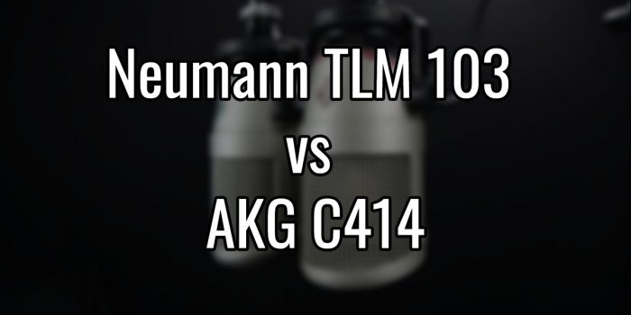 Neumann tlm 103 vs akg c414
