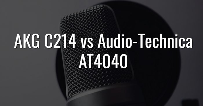 Akg c214 vs audio technica at4040
