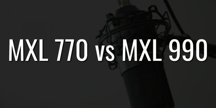 Mxl 770 vs mxl 990
