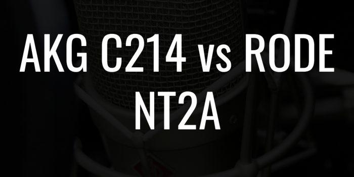 Akg c214 vs rode nt2a