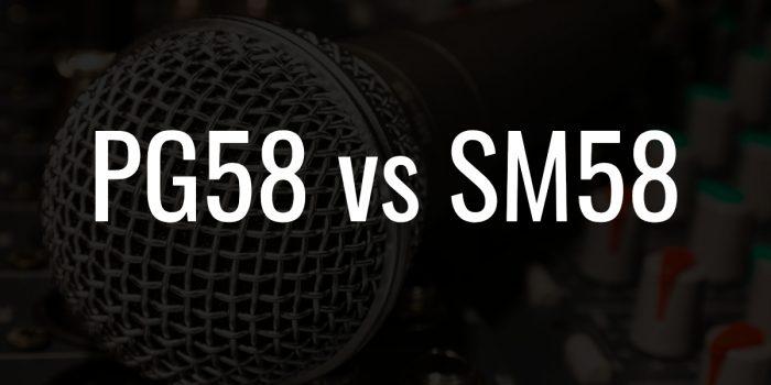 Pg58 vs sm58