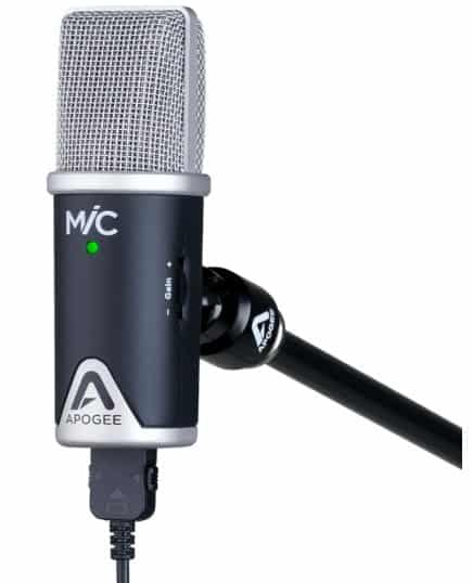 Apogee microphone