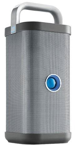 Big blue party speaker
