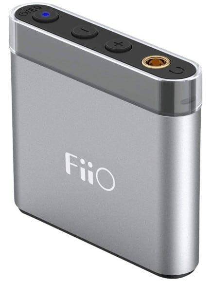 Fiio a1 silver portable headphone amp a1