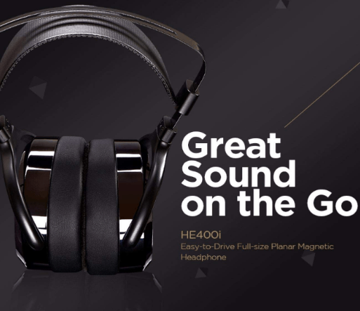Hifiman he 400i over ear full size planar magnetic headphones
