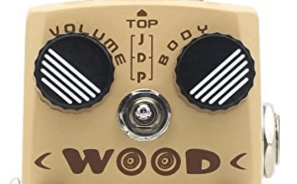 Hotone tpswood wood guitar effects pedal