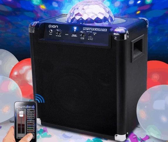 Ion rocker speaker