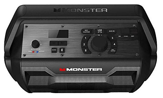 Monster nomad speaker