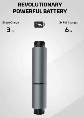 Rowkin battery life