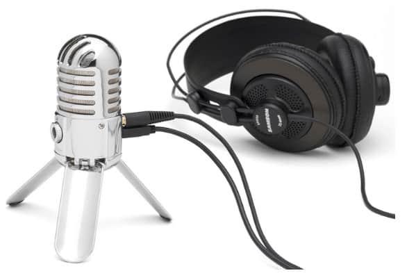 Samson meteor Microphone