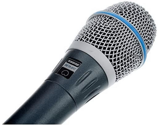 Shure beta 87c microphone