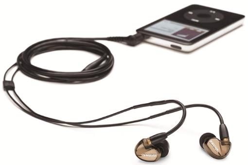 Shure se535 v earphones bronze
