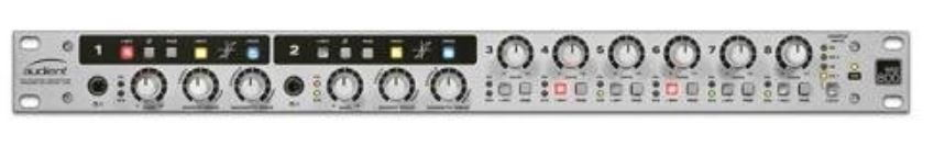 Audient asp800 8 channel microphone preamplifier