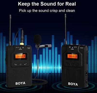 Boya by wm6 uhf professional wireless