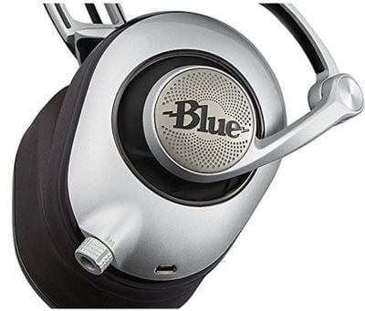 Blue yella planar magnetic headphone