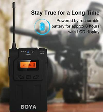 Boya by wm6 battery life