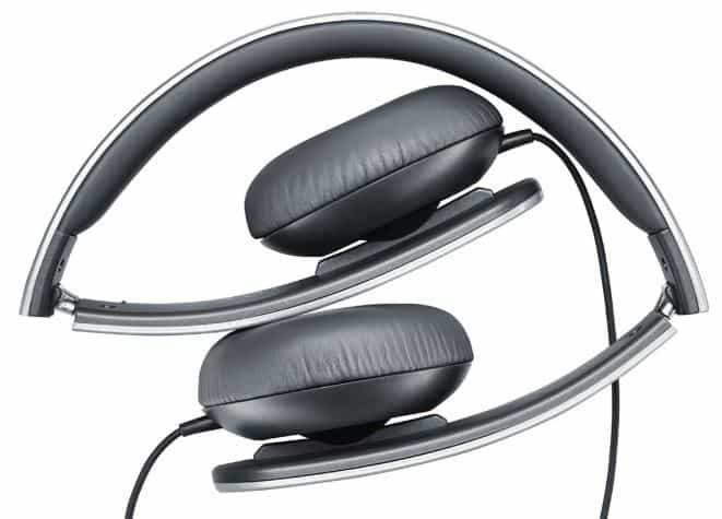 Shure srh145 portable collapsible closed back headphones
