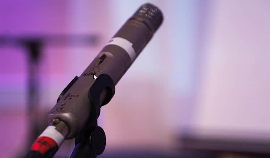 Pencil mic performance