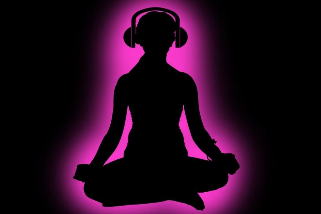 Meditation headphones