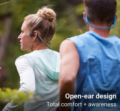 Open ear design