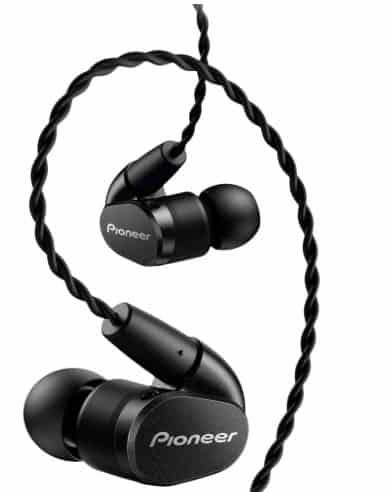 Pioneer hi res in ear headphones