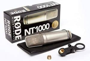 Rode nt1000 accessories