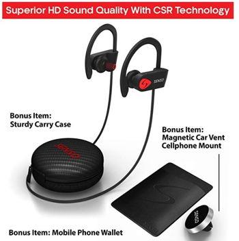 Senso headphones sound quality