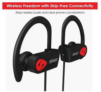 Senso headphones wireless feature