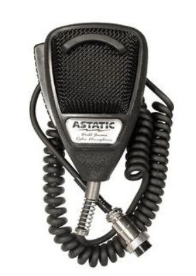 Astatic - 636L Noise Canceling 4-Pin CB Microphone