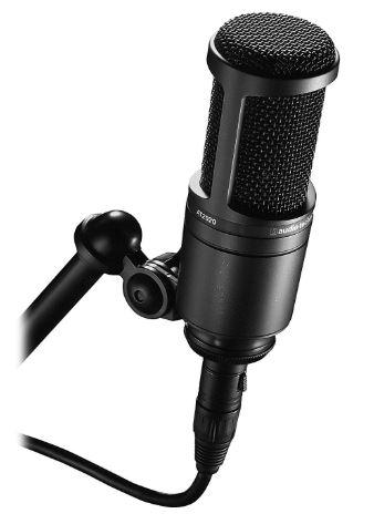 At2020 condenser mic