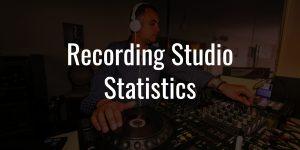Recording studio statistics