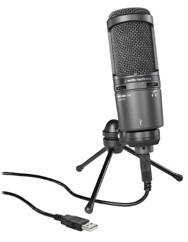 AT2020USB PLUS voice over mic