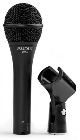 Audix om6 live vocal microphone