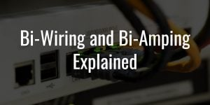 Bi wiring and bi amping explained