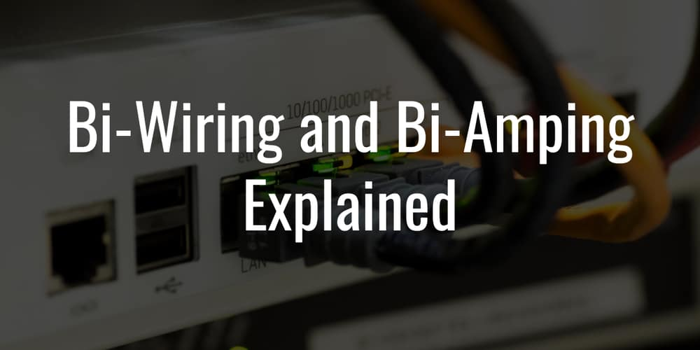Bi Wiring And Bi Amping The Last Guide You Ll Need