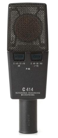 AKG Pro Audio C414 XLS design