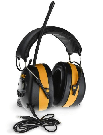 Dewalt DPG15 lawn mowing headphones