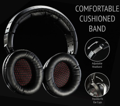LyxPro OEH-10 Open Back Headphones