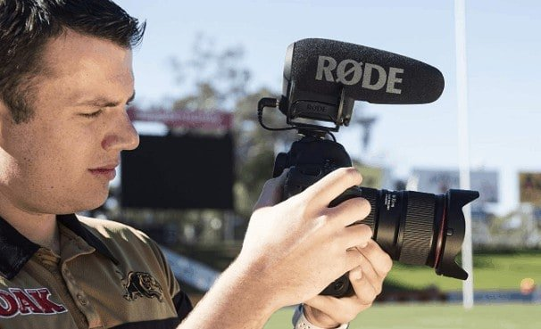 Rode VideoMic Pro+ for video recording
