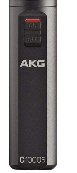AKG C1000S volume controls