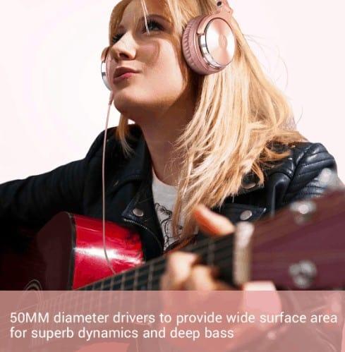 OneOdio headphones sound quality