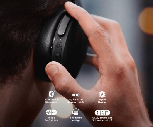 Skullcandy Hesh 3 Wireless features