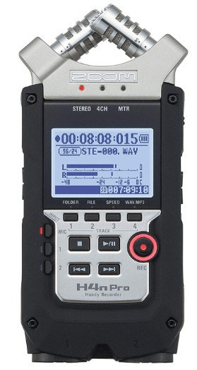 Zoom H4n Pro front view