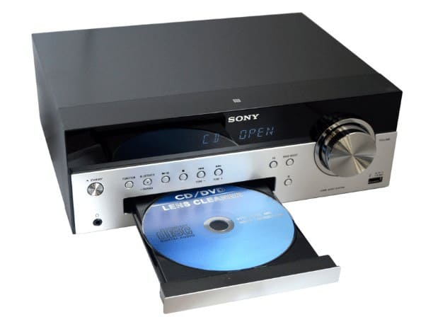 Sony system with CD player