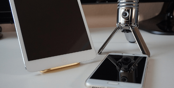 Type of mic works best for iPad