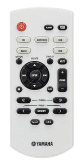 Yamaha MCR-B020BL remote