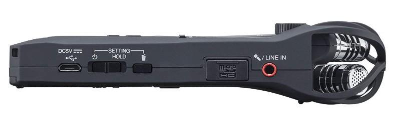 Zoom H1n control knobs